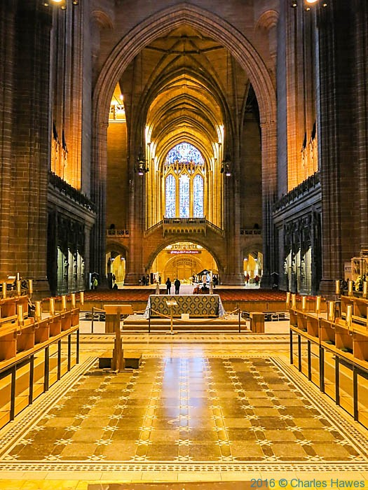 Anglican Cathedral, Liverpool, photographed by Charles Hawes