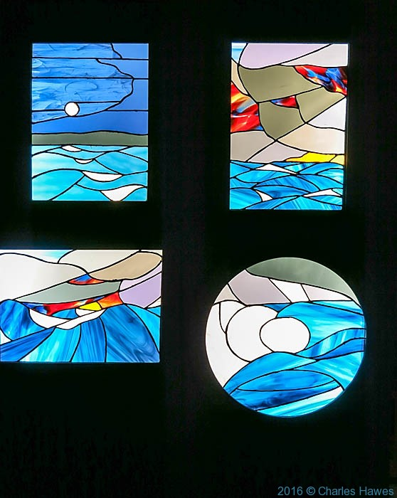 Far out at Sea by Kate Bayes in the Anglican Cathedral, Liverpool, photographed by Charles Hawes