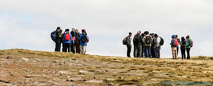 Summit of Pen y Fan, Brecon Beacons, photographed by Charles Hawes