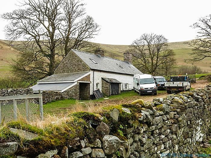 Cwm Llch Farm. Brecon Beacons, photographed by Charles Hawes