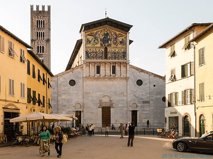 San Frediano, Lucca, photographed by Charles Hawes
